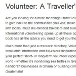 Free Lonely Planet Book On Being A Volunteer