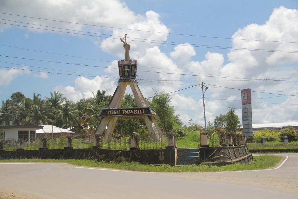 Interesting monument on Makbon Road