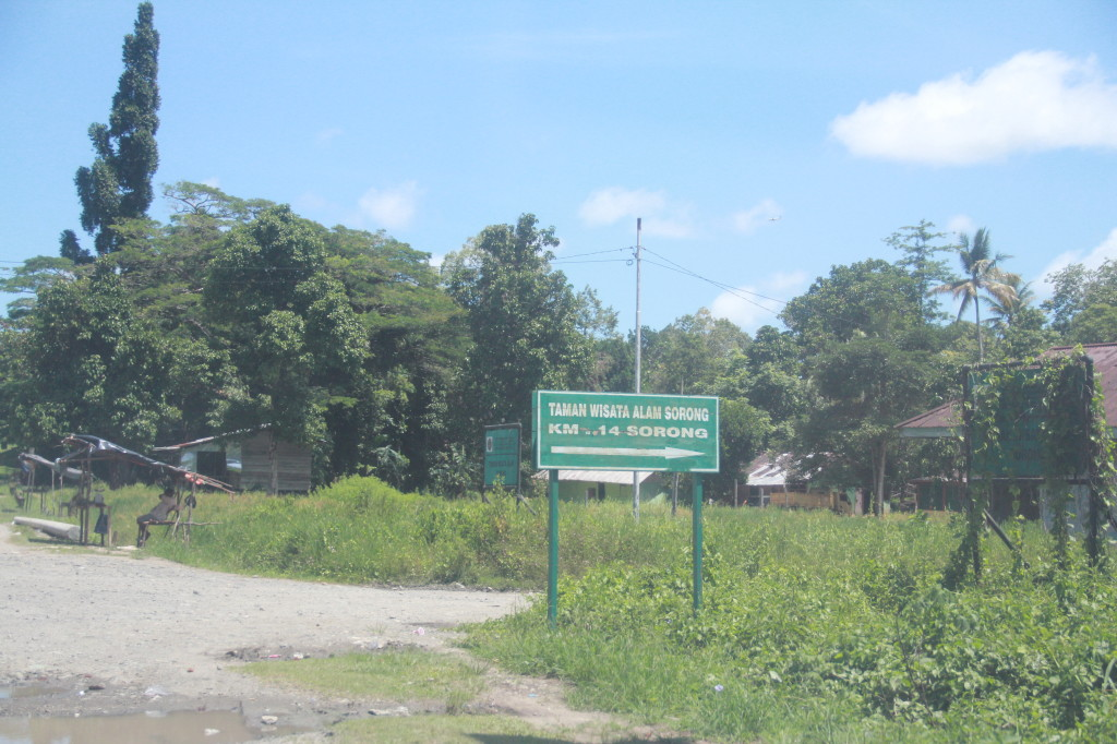 Entrance to Hutan Lindung Taman Wisata