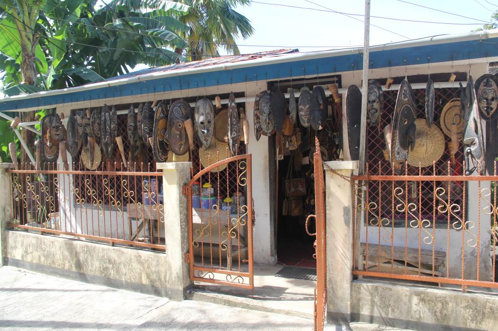Gift shop behind BUMA uphill from Royal Mamberamo Hotel