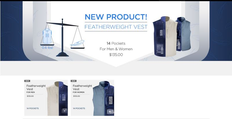 Scottevest Featherweight