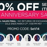 Scottevest's Big 14th Anniversary Sale Ends 2 March