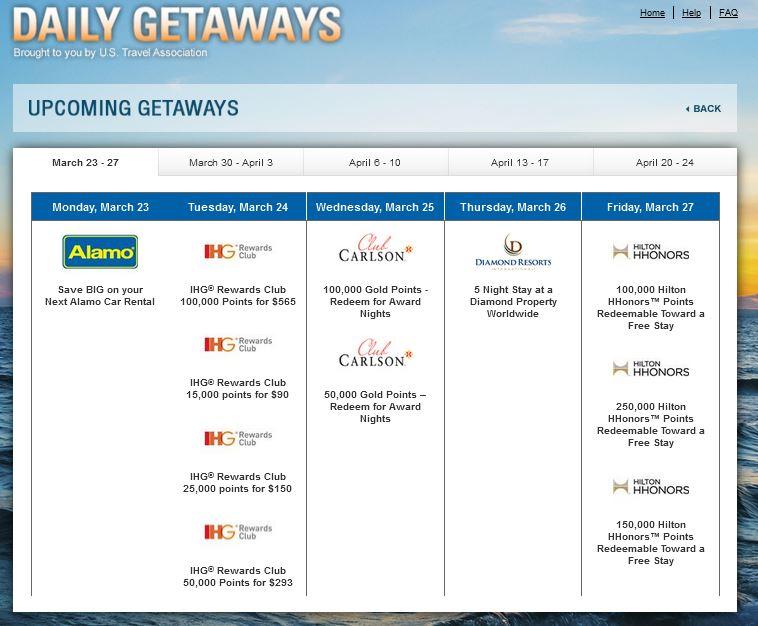Daily Getaways 1