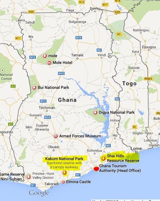 Ghana Parks
