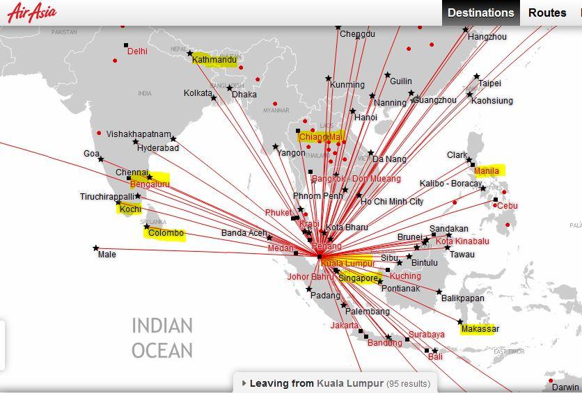 Air Asia KUL