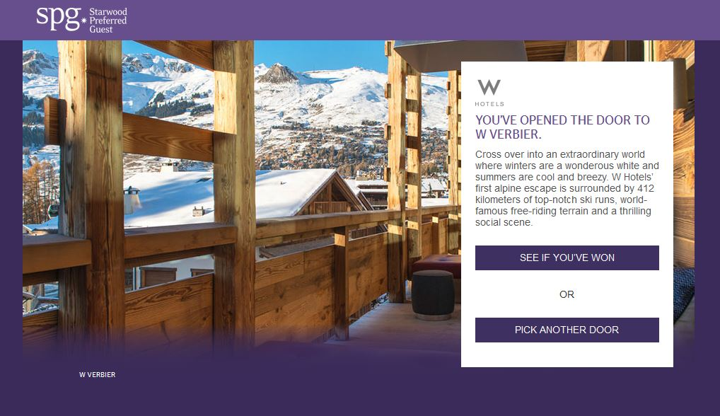 Free SPG Online Game – Win Points & Rooms | Miles To The Wild