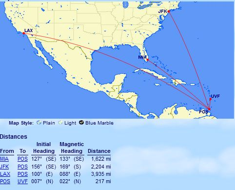 Getting To The Caribbean Islands With Airline Miles | Miles To The Wild